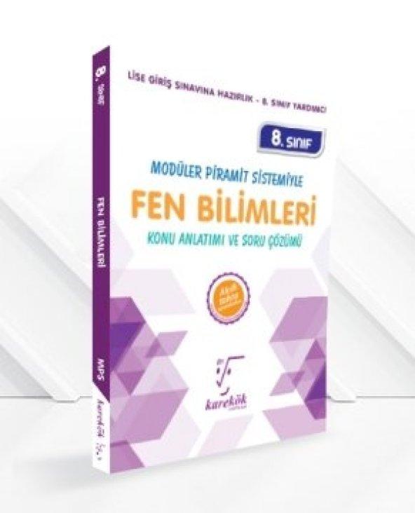 KAREKÖK 8.SINIF FEN BİLİMLERİ MPS KONU ANLATIMLI SORU BANKASI (YE