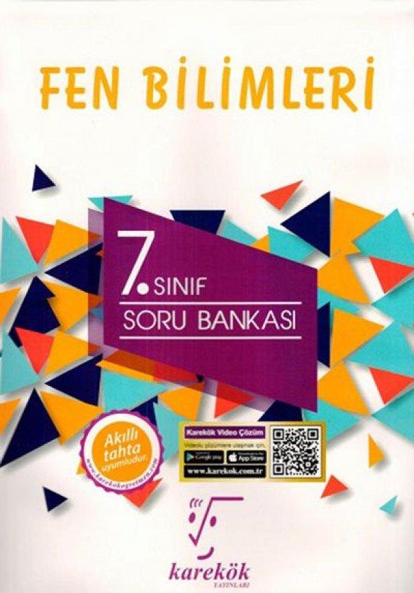 KAREKÖK 7.SINIF FEN BİLİMLERİ SORU BANKASI (YENİ)