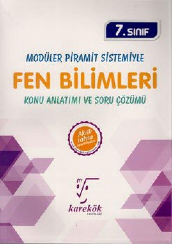 KAREKÖK 7.SINIF FEN BİLİMLERİ MPS KONU ANLATIMLI SORU BANKASI (YE