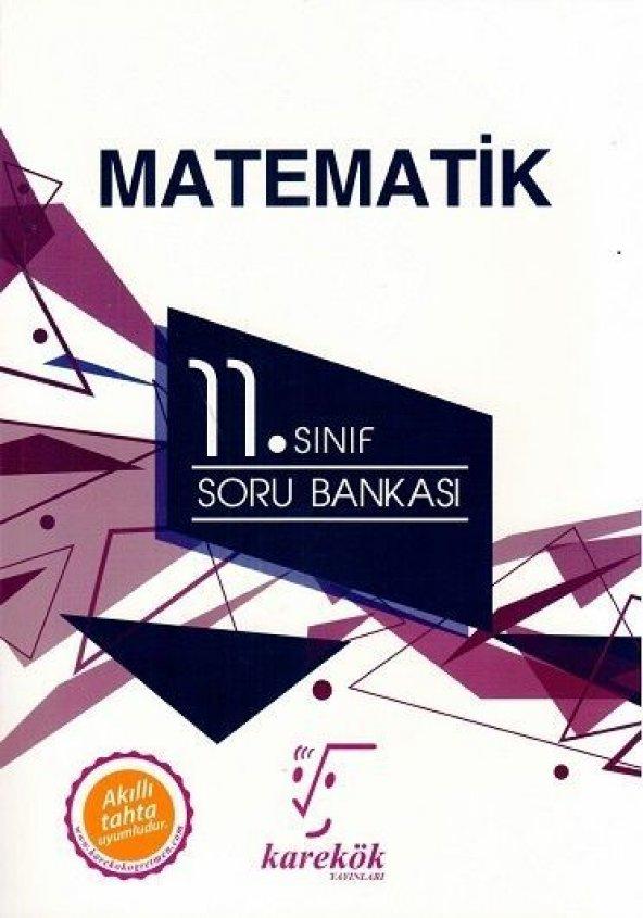 KAREKÖK 11.SINIF MATEMATİK SORU BANKASI (2020)