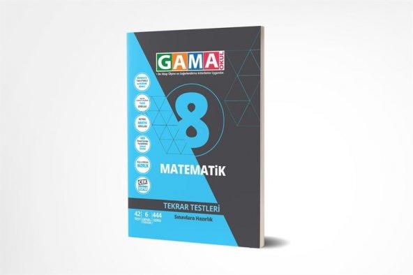GAMA 8.SINIF MATEMATİK TEKRAR TESTLERİ (2020)