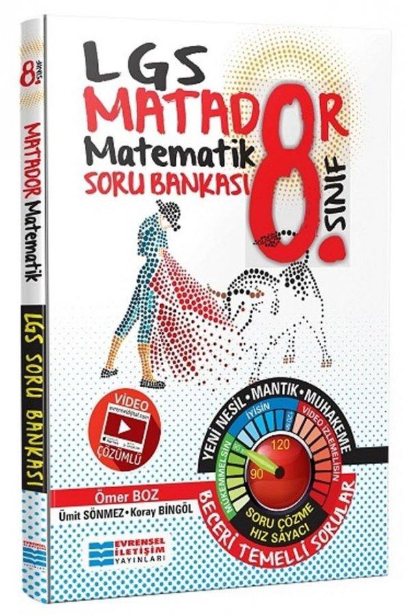 EVRENSEL 8.SINIF MATADOR MATEMATİK SORU BANKASI (2020)