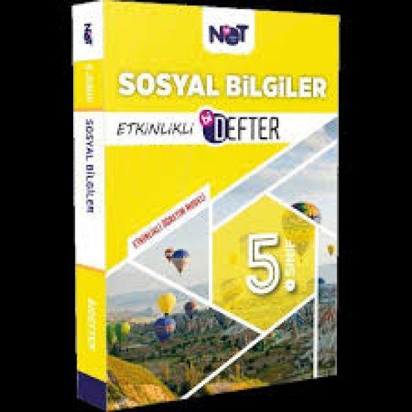 BİNOT 5.SINIF SOSYAL BİLGİLER ETKİNLİKLİ DEFTER (YENİ)