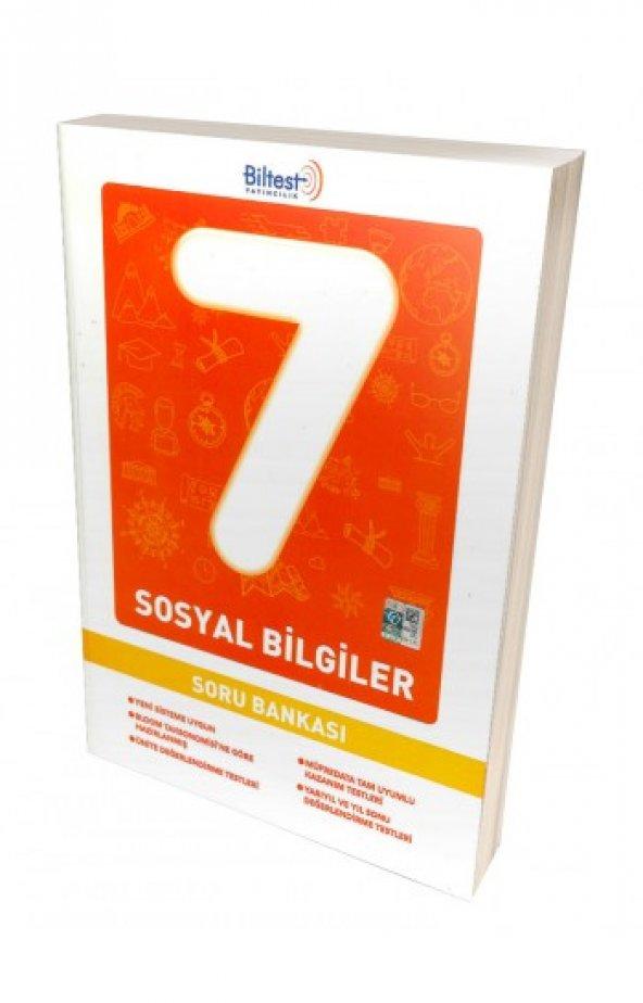 BİLTEST 7. SINIF SOSYAL BİLGİLER SORU BANKASI (YENİ)