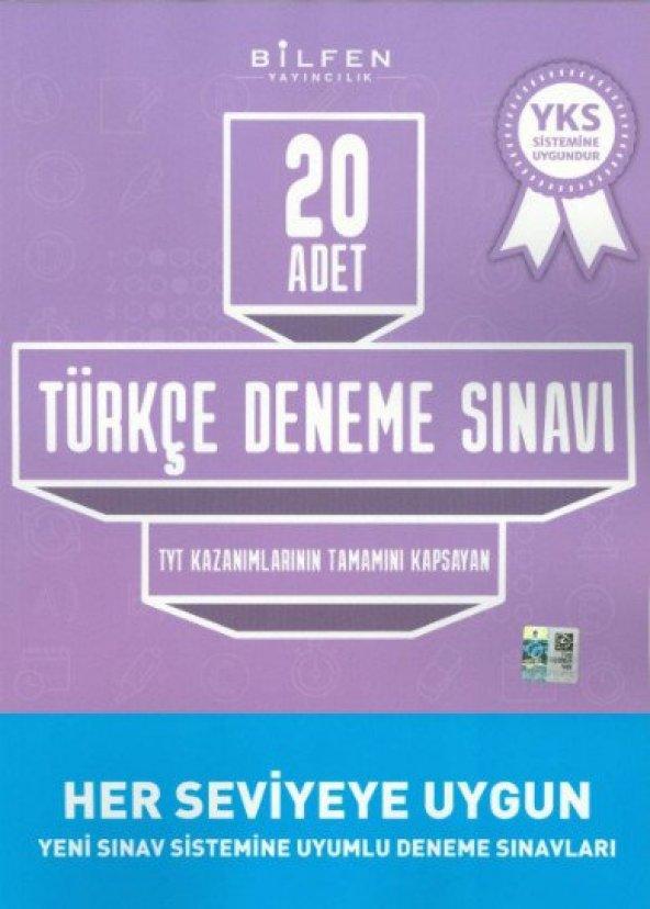 BİLFEN TYT TÜRKÇE 20 Lİ DENEME SINAVI (YENİ)