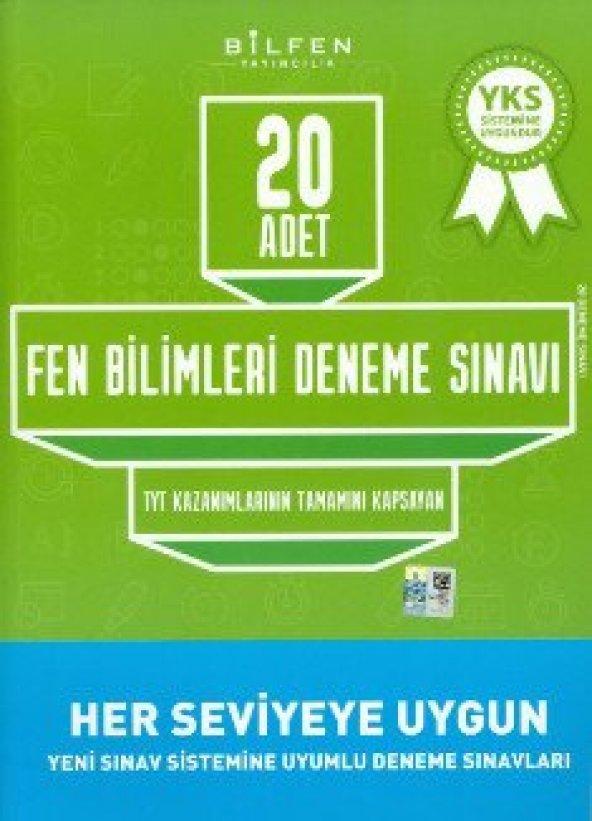 BİLFEN TYT FEN BİLİMLERİ 20 Lİ DENEME (YENİ)