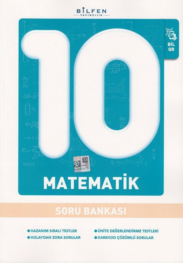 BİLFEN 9.SINIF MATEMATİK SORU BANKASI (2020)