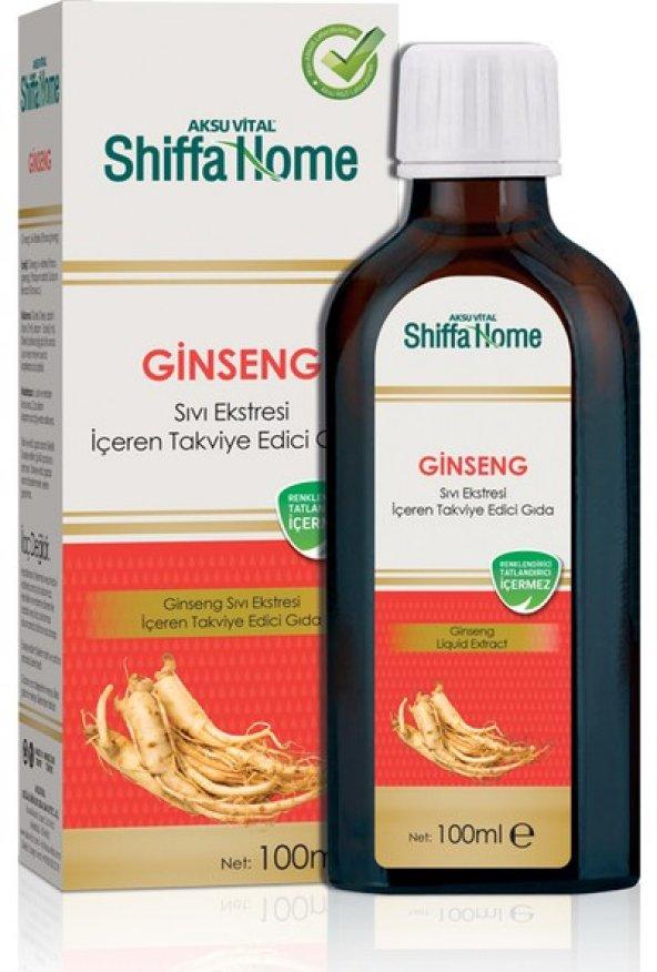 Aksu Vital Shiffa Home  Ginseng Sıvı Ekstresi 100 ml