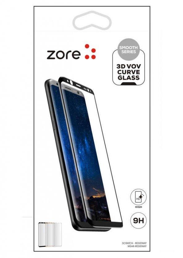 Huawei P30 Pro Zore 3D Vov Curve Glass Ekran Koruyucu
