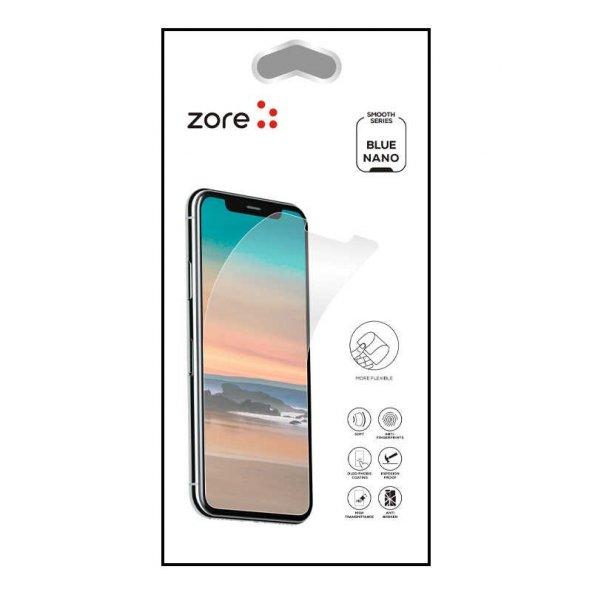LG K8 2017 Zore Blue Nano Screen Protector EKRAN KORUYUCU CAM