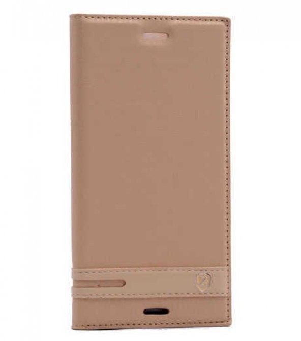 Sony Xperia XZ Premium Kılıf Zore Elite Kapaklı Kılıf
