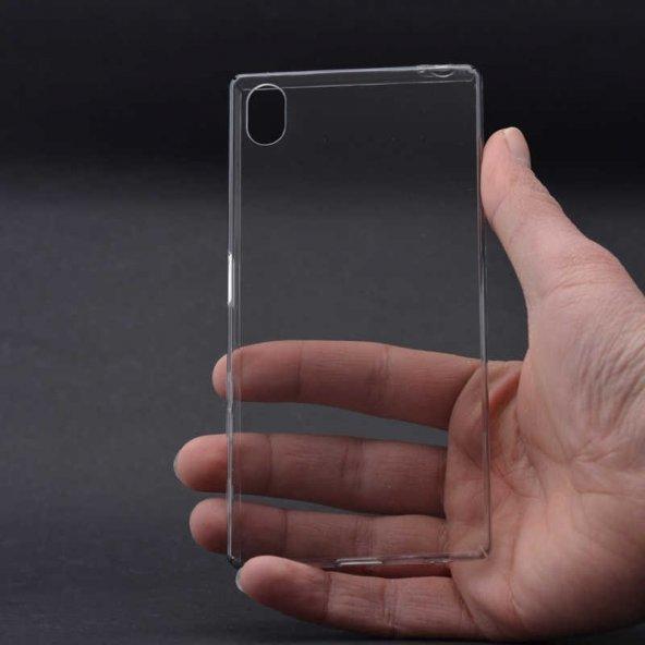 Sony Xperia Z5 Kılıf Zore Clear Cover