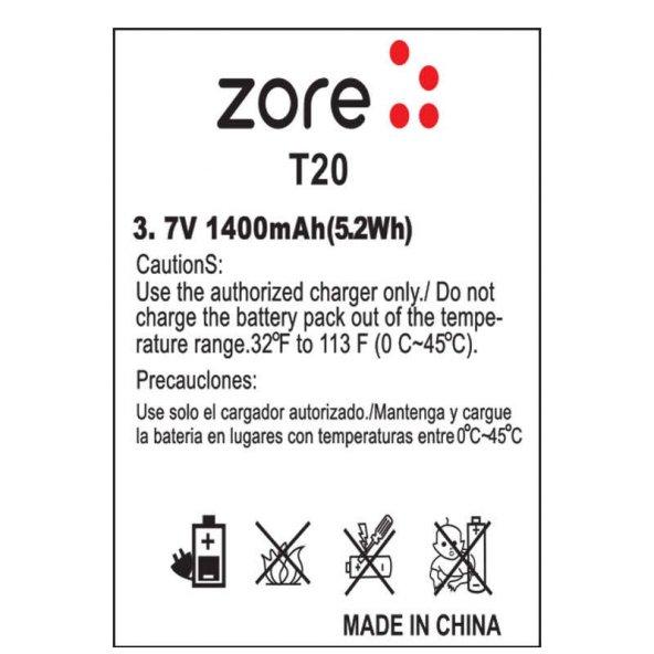 T20 Zore A Kalite Uyumlu Batarya