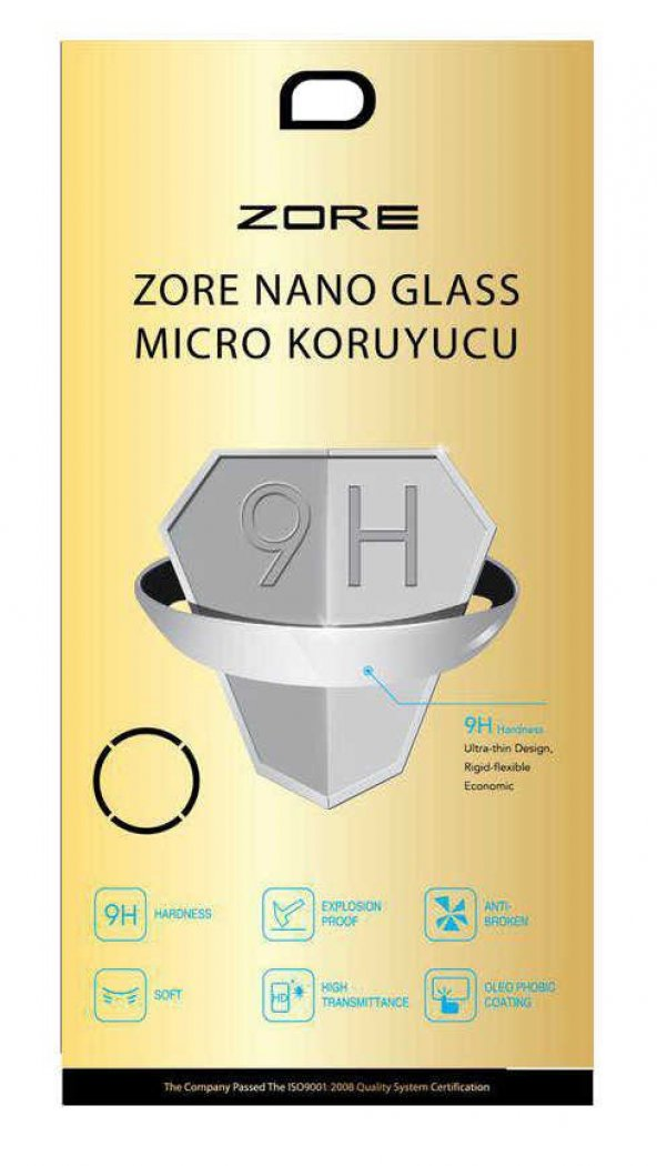 Turkcell T80 Zore Nano Micro Temperli Ekran Koruyucu
