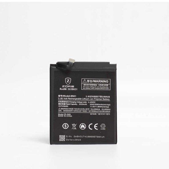 Xiaomi Mi 5X Zore Tam Orjinal Batarya