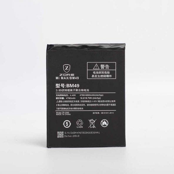 Xiaomi Mi Max Zore Tam Orjinal Batarya