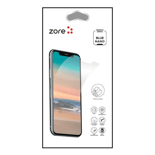 Xiaomi Pocophone F1 Zore Blue Nano Screen Protector EKRAN KORUYUCU CAM