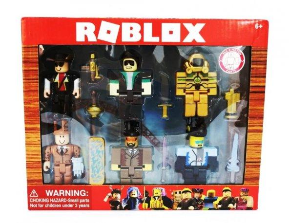 Roblox 6 Figürlü 13 Parça Kutulu Oyuncak Seti - Roblox  LEGEND