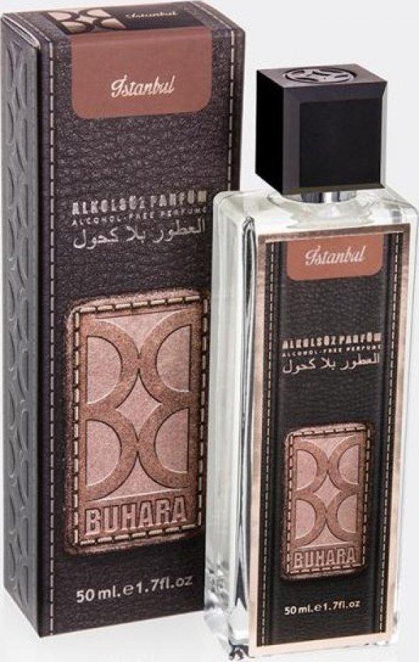 Buhara 50 ml Bay-Bayan Alkolsüz Parfüm Sprey (Babil)
