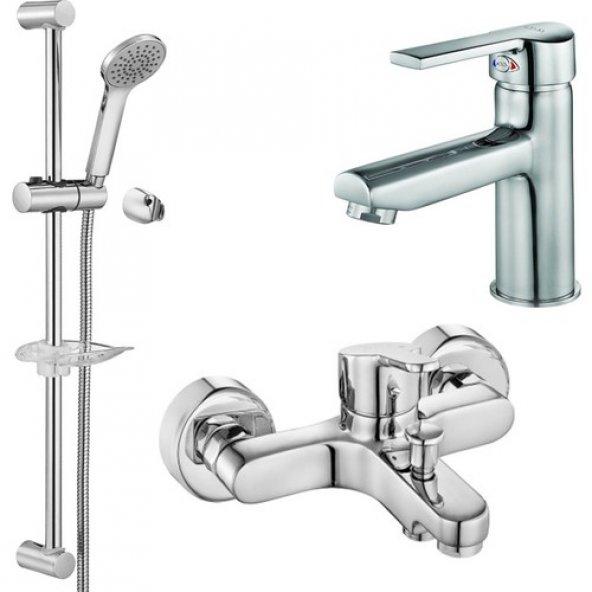 ECA Hareketli Duş Banyo Batarya Seti