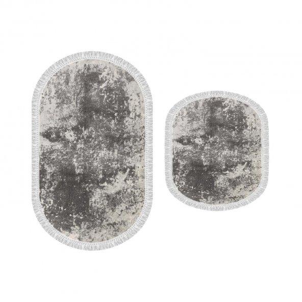 Decoling İpek 1898 Dekoratif Oval Klozet Takımı