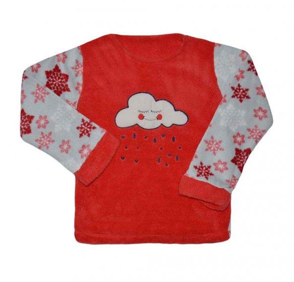 Pink 6000 Kız Çocuk Polar Pijama
