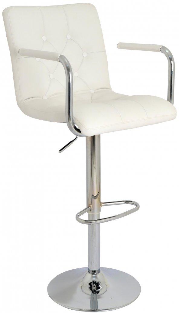 Boombar Helen Bar Sandalyesi-Beyaz-9519Q0109