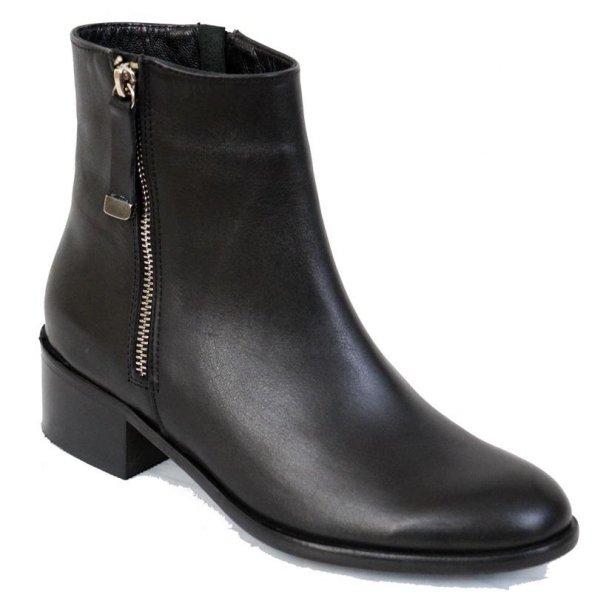 Ustalar Ayakkabı 364.458 Kadın Günlük Siyah Deri Yarım Bot