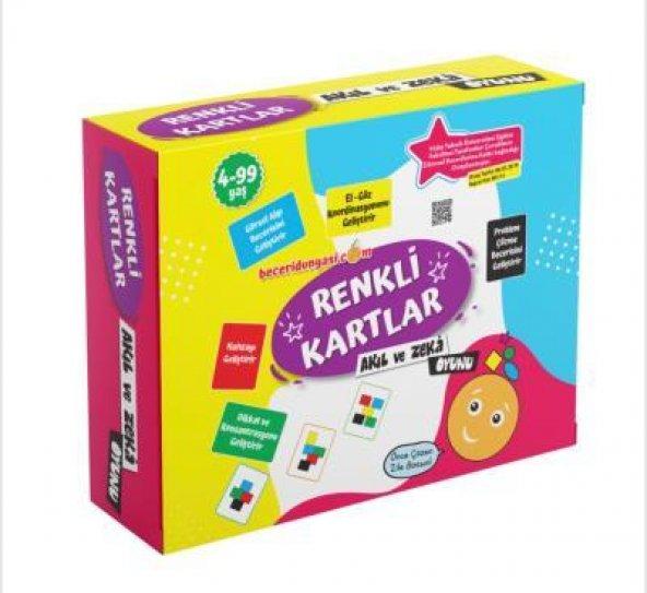 Beceri Dünyası Renkli Kartlar Akıl ve Zeka Oyunu 4 - 99 Yaş