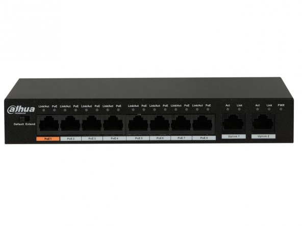 DAHUA PFS3010-8ET-96 8 Port PoE Switch