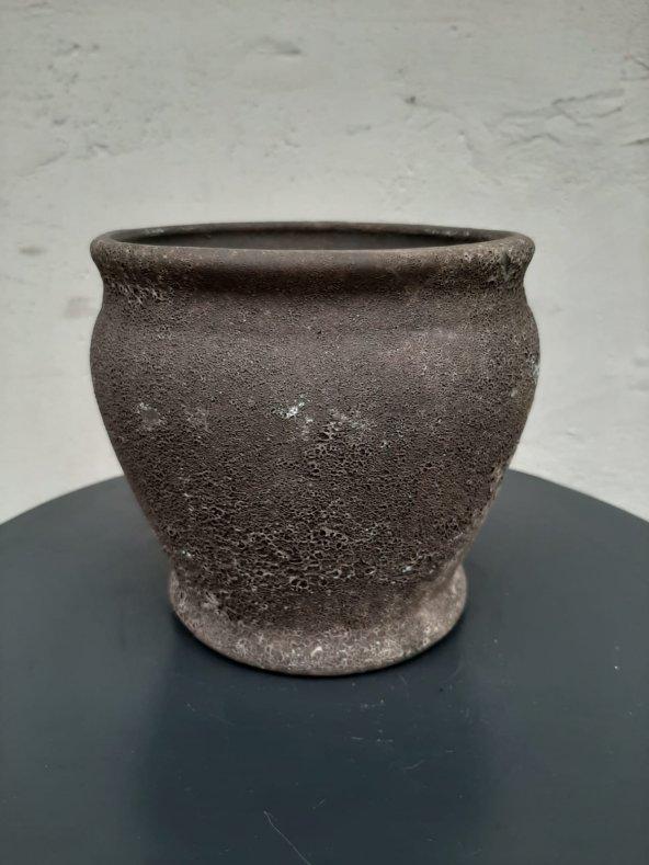 Dekoratif Seramik Saksı 15*14 cm