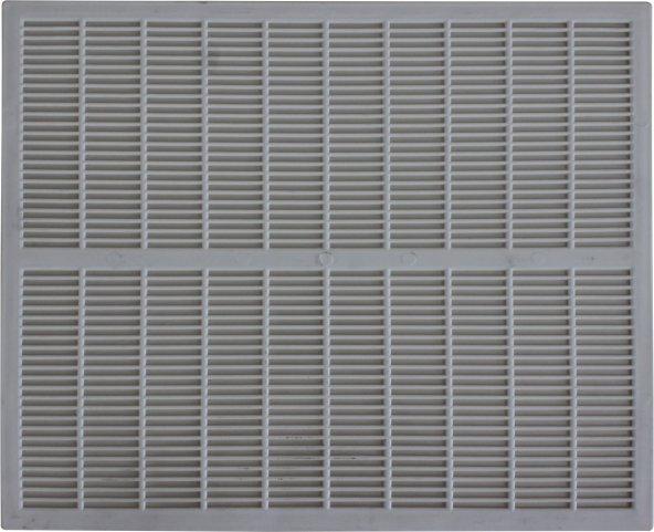Arı Kovan Gri Plastik Ana Arı Izgarası 50x42 cm