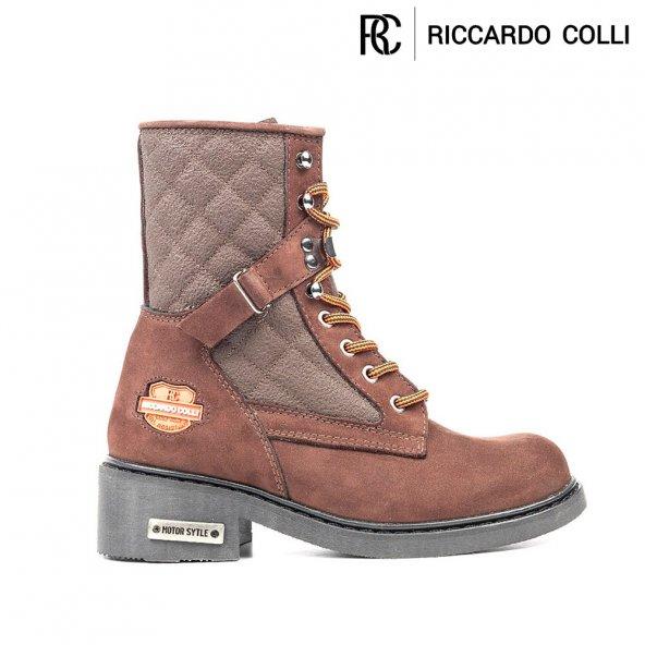 Riccardo Colli Z5924 Kahve 100 DERİ