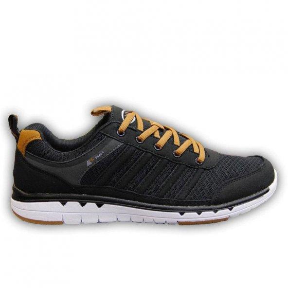 Mp 1622 Rahat Erkek Spor Ayakkabı Siyah Yeni Sezon