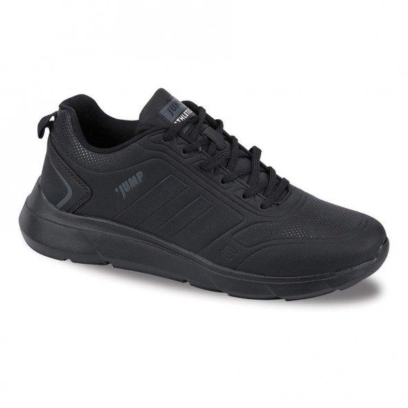 Jump 24068 Siyah - Koyu Gri Erkek Spor Ayakkabı
