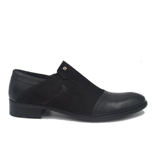 Fosco 4560 Deri Klasik Erkek Ayakkabı Siyah