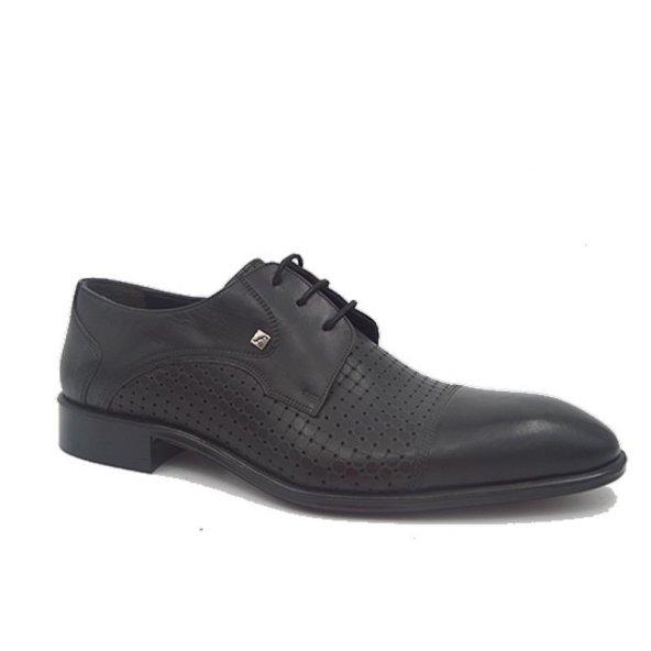 Fosco 4755 Deri Klasik Erkek Ayakkabı Siyah