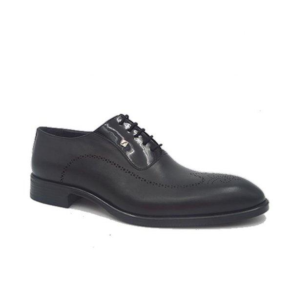 Fosco 6756 Deri Erkek Klasik Ayakkabı Siyah