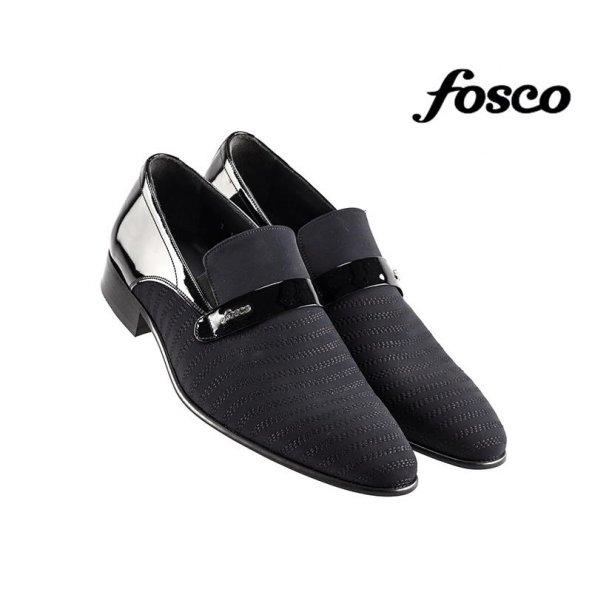 Fosco 5098 Deri Klasik Erkek Ayakkabı Siyah