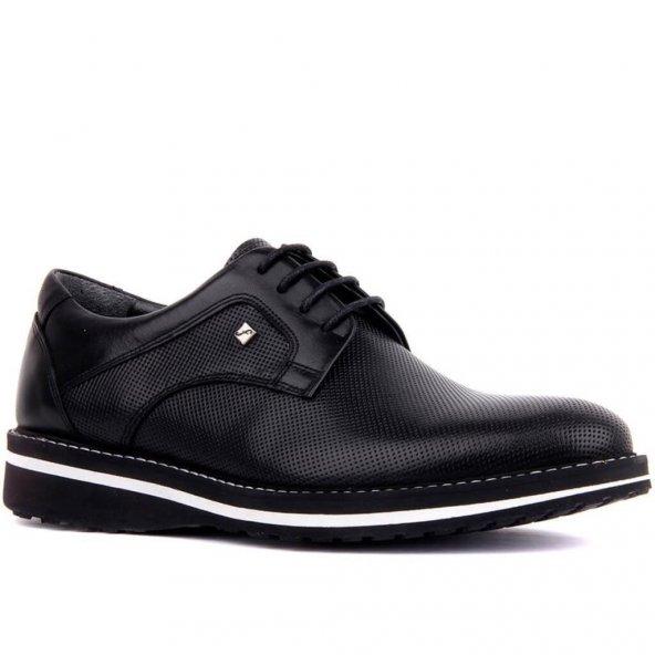 Fosco 8071 Deri Klasik Erkek Ayakkabı Siyah