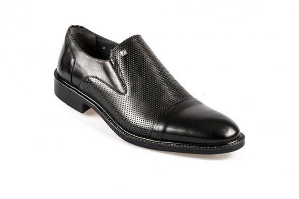Fosco 8599 Deri Klasik Erkek Ayakkabı Siyah