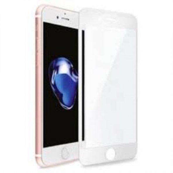 iPhone 6G/6S Beyaz (5D) Glass Ekran Koruyucu