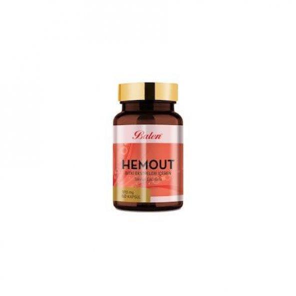 Hemout Bitki Ekstreleri Içeren Kapsül 60 Kapsül 370 mg
