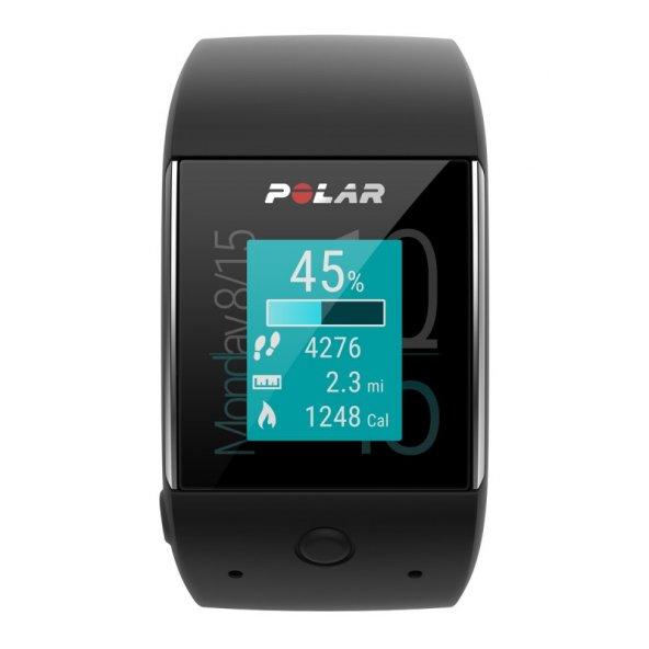 Polar M600 GPS'li Nabız Kontrol Saati - Siyah