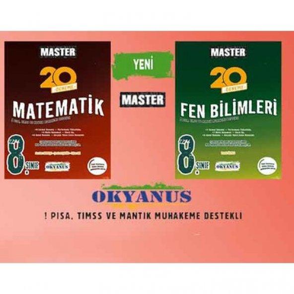 OKYANUS MASTER 8.SINIF MATEMATİK-FEN BİLİMLERİ DENEME SETİ