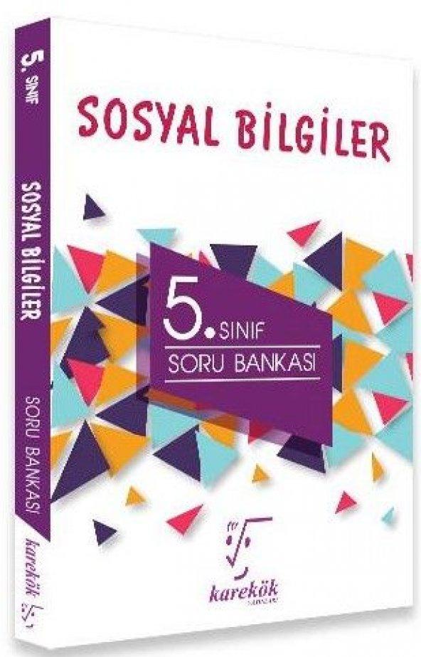 KAREKÖK 5.SINIF SOSYAL BİLGİLER SORU BANKASI (YENİ)