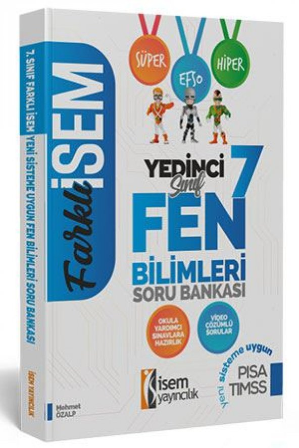 İSEM 7.SINIF FEN BİLİMLERİ SORU BANKASI (2020)