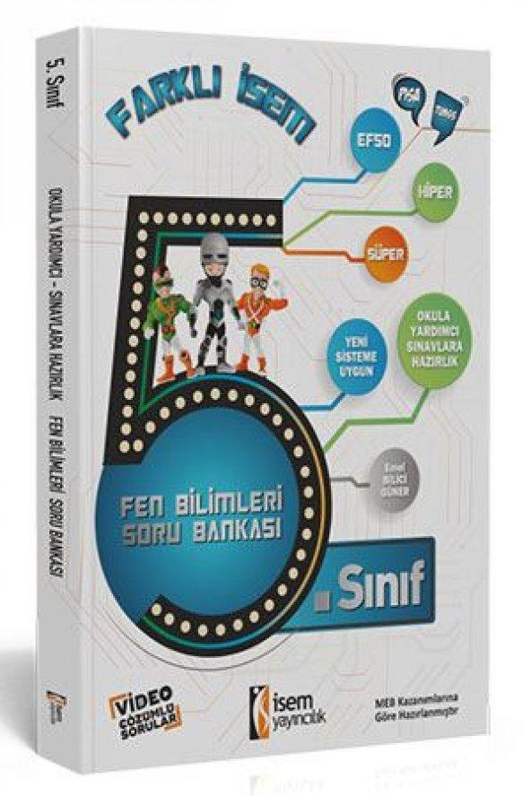 İSEM 5.SINIF FEN BİLİMLERİ SORU BANKASI (YENİ)