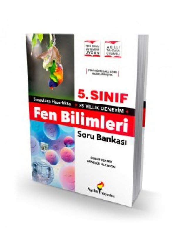 AYDIN 5.SINIF FEN BİLİMLERİ SORU BANKASI (YENİ)