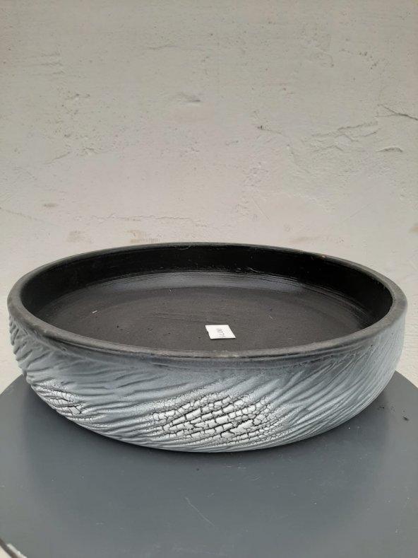 Dekoratif Seramik Saksı 31.5*7.5 cm